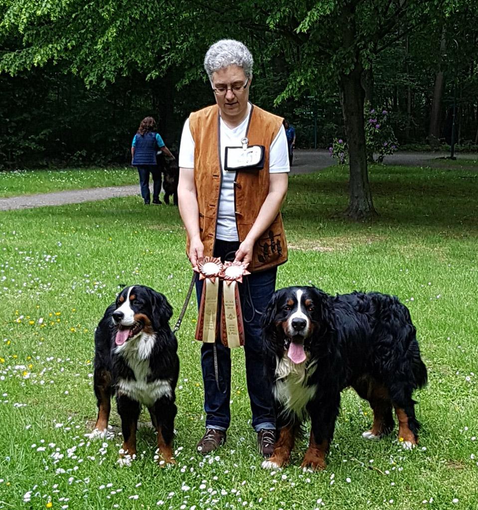 Manuela mit Lissy & Timur, Bad Lausick '19